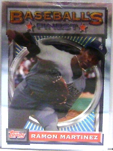 1993 Finest #29 Ramon Martinez