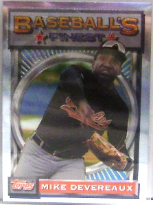 1993 Finest #74 Mike Devereaux