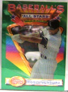 1993 Finest #93 Robin Ventura AS