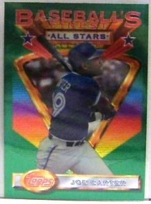 1993 Finest #94 Joe Carter AS