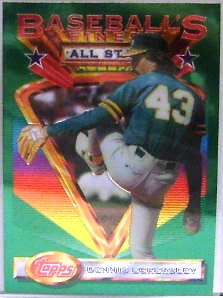1993 Finest #100 Dennis Eckersley AS