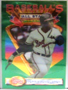 1993 Finest #101 Terry Pendleton AS