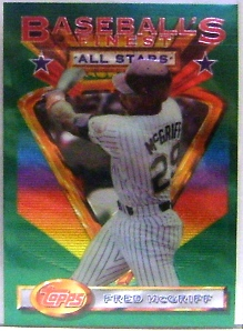1993 Finest #106 Fred McGriff AS