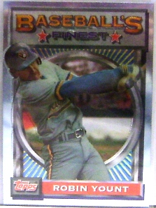 1993 Finest #192 Robin Yount