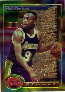 1993-94 Finest #50 Nick Van Exel RC