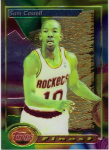 1993-94 Finest #169 Sam Cassell RC
