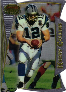 1996 Bowman's Best Cuts #12 Kerry Collins