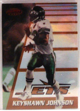 1996 Bowman's Best Refractors #180 Keyshawn Johnson
