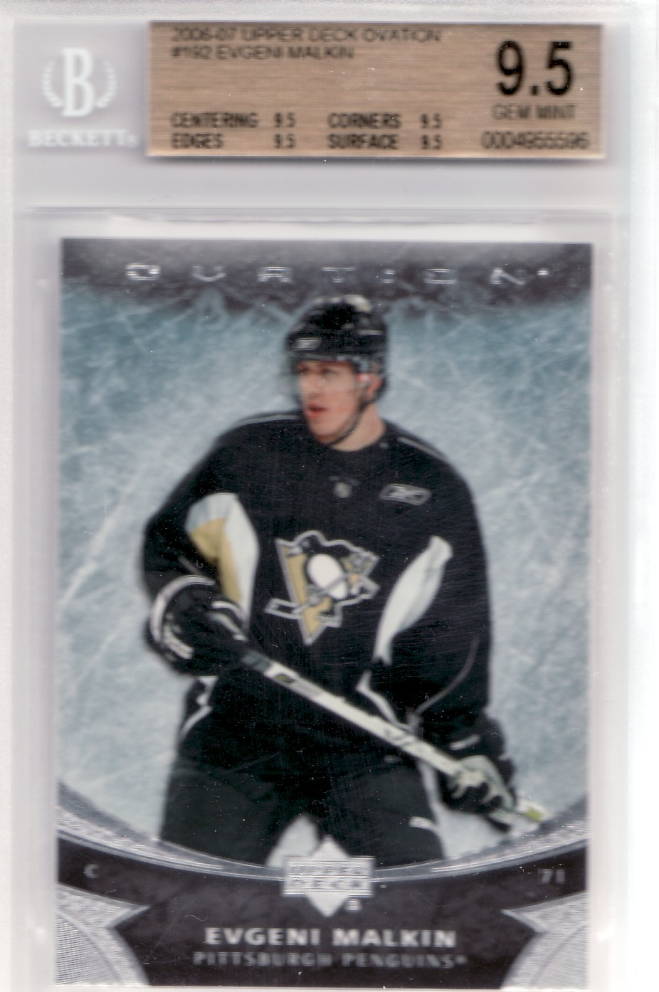 Beckett 9.5 Malkin Ovation #192