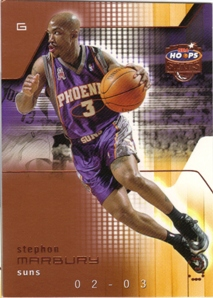 2002-03 Hoops Stars Five-Star #124 Stephon Marbury