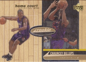 1998 Upper Deck Hardcourt Home Court Advantage Plus #73 Chauncey Billups RE