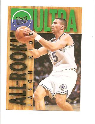 1994-95 Ultra All-Rookies #5 Jason Kidd
