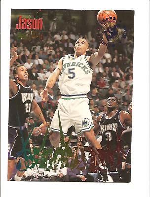 1994-95 Stadium Club Beam Team #6 Jason Kidd