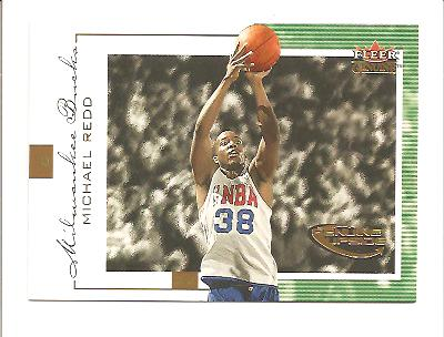 2000-01 Fleer Genuine #116 Michael Redd RC