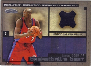 2002-03 Fleer Showcase Basketball's Best Memorabilia #BBM17 Lamar Odom WU