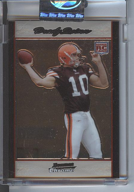 2007 Bowman Chrome Uncirculated Rookies #BC57 Brady Quinn