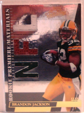 2007 Absolute Memorabilia #273 Brandon Jackson RPM RC