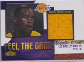 1999-00 Flair Showcase Feel the Game #10 Shaquille O'Neal