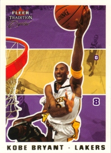 2003-04 Fleer Tradition Crystal #187 Kobe Bryant