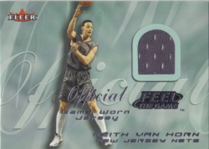2000-01 Fleer Feel the Game #34 Keith Van Horn