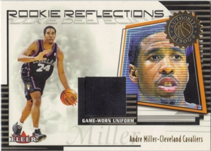 2000-01 Fleer Authority Rookie Reflections #RR12 Andre Miller