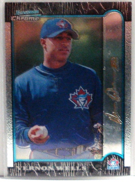 1999 Bowman Chrome Gold #94 Vernon Wells