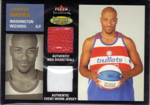 2003-04 Fleer Tradition Throwback Threads Combo #JH Jarvis Hayes