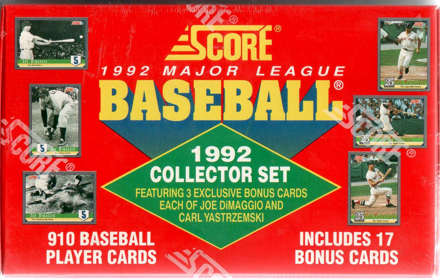 1992 SCORE BASEBALL FACTORY SEALED SET - 910 CARD SET