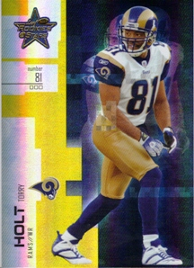 2007 Leaf Rookies and Stars Gold #45 Torry Holt