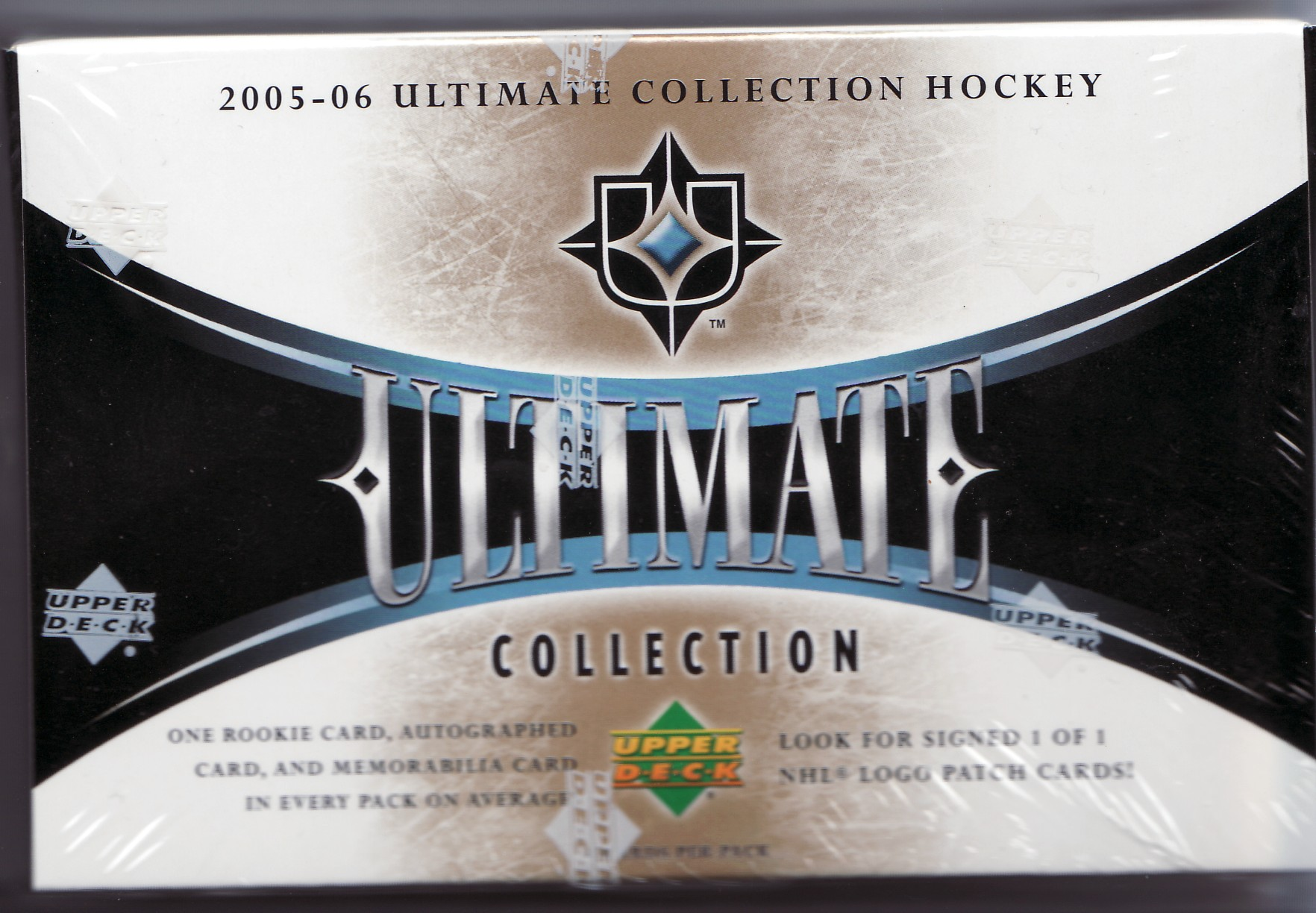 2005-06 Upper Deck Ultimate Collection Basketball Factory Sealed Hobby PACK (1 Autograph, Autographed Rookie, Jersey or Patch Card in Every Pack) (2005, 2006, 05/06, 05/6)
