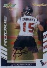 2007 Select Inscriptions #373 Jared Zabransky/50