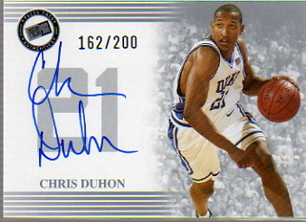 2004 Press Pass Autographs Silver #10 Chris Duhon
