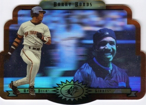 1996 SPx Gold #51 Barry Bonds
