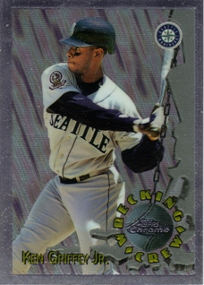1996 Topps Chrome Wrecking Crew #WC9 Ken Griffey Jr.