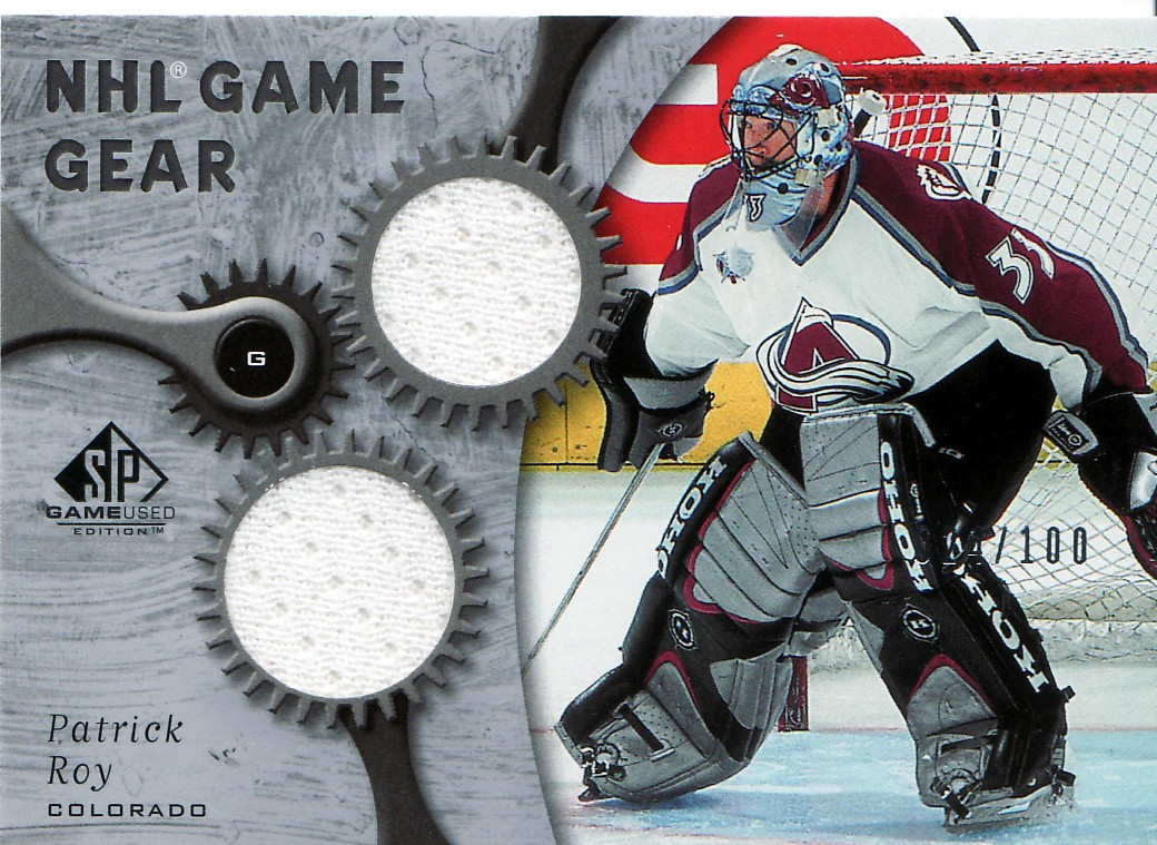 2005-06 SP Game Used Game Gear #GGPR1 Patrick Roy