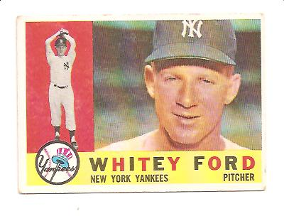 1960 Topps #35 Whitey Ford