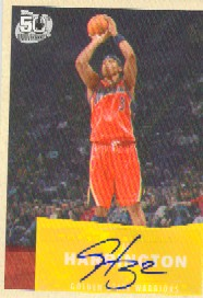 2007-08 Topps 1957-58 Variations Autographs #12 Al Harrington B