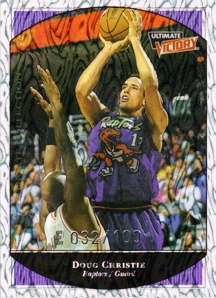 1999-00 Ultimate Victory Parallel 100 #80 Doug Christie