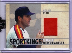 2007 Sportkings Single Memorabilia #SM41 Nolan Ryan Houston Jsy