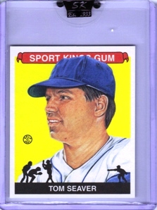 2007 Sportkings Mini #34 Tom Seaver