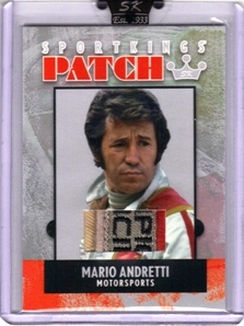2007 Sportkings Patch #P10 Mario Andretti Suit