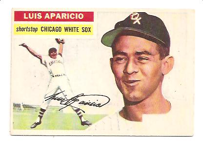 1956 Topps #292 Luis Aparicio RC