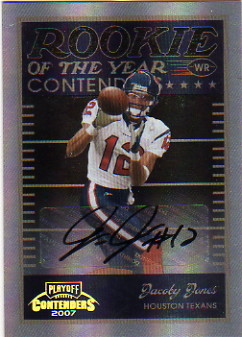 2007 Playoff Contenders ROY Contenders Autographs #15 Jacoby Jones