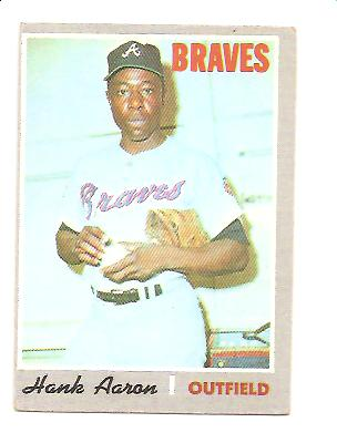 1970 Topps #500 Hank Aaron