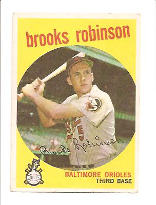 1959 Topps #439 Brooks Robinson