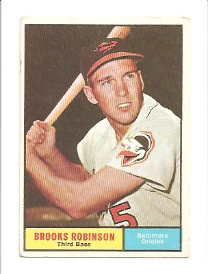 1961 Topps #10 Brooks Robinson