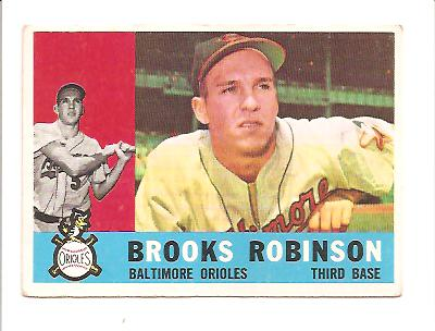1960 Topps #28 Brooks Robinson front image