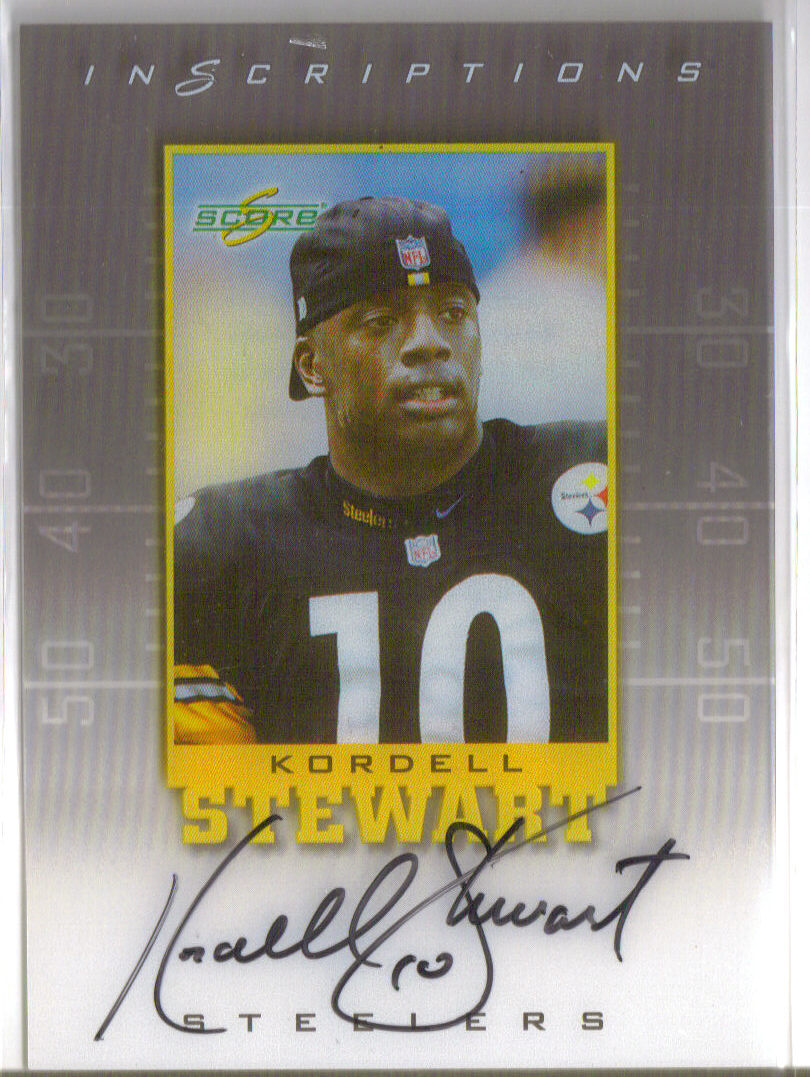 1999 Score Supplemental Inscriptions #KS10 Kordell Stewart front image
