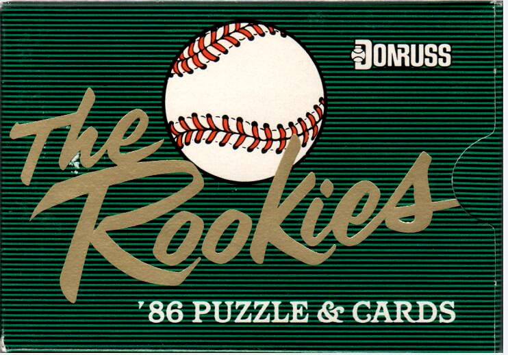 1986 DONRUSS THE ROOKIES COMPLETE FACTORY SEALED SET