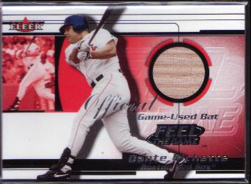 2001 Fleer Feel the Game Dante Bichette